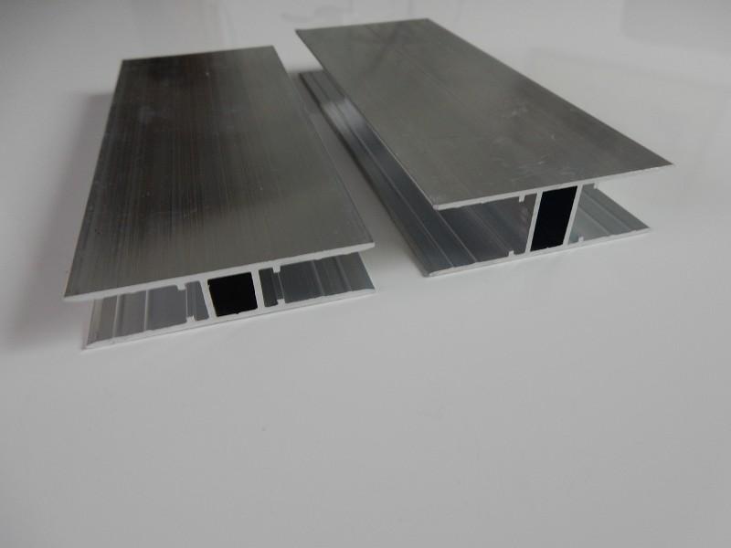 alu h profil h profil alu gleichschenkelig materialst rke. Black Bedroom Furniture Sets. Home Design Ideas