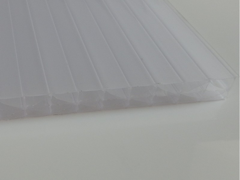 Polycarbonate multiwall sheets, 16 mm, WHITE OPAL