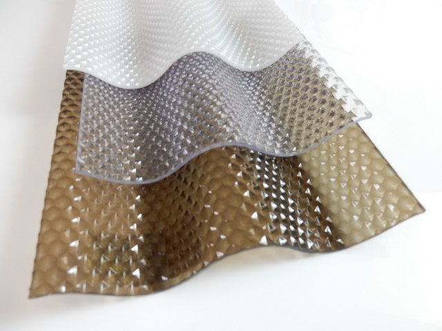 SUNTUF-corrugated polycarbonate sheets