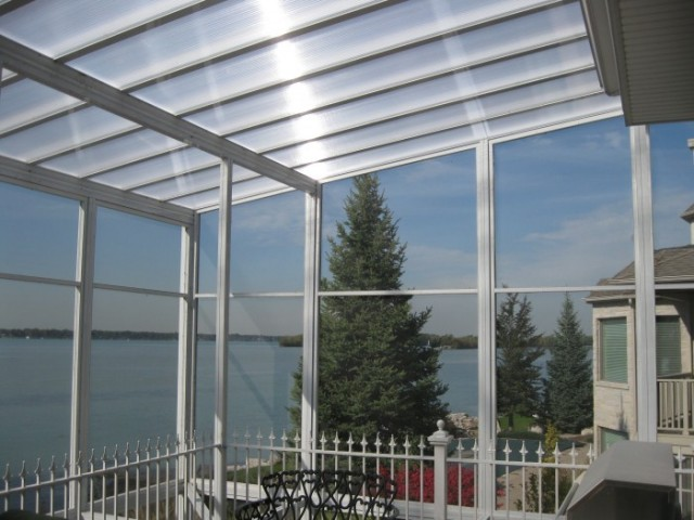 Polycarbonate multiwall sheets, 10 mm, CLEAR